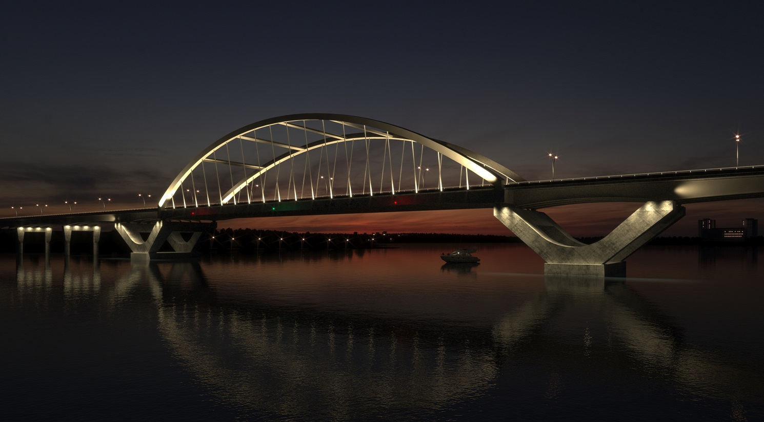 SYSTRA, Kiewit and Hatch to build Third Crossing bridge in